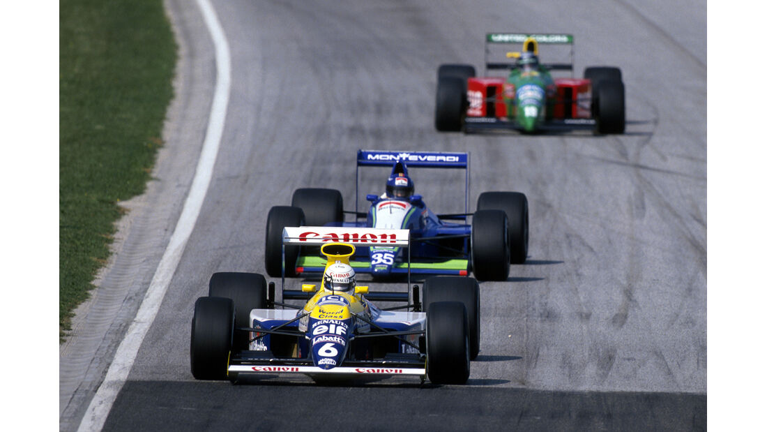 Riccardo Patrese GP San Marino 1990
