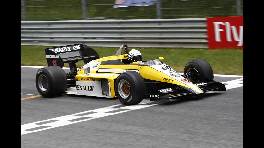 Riccardo Patrese - Renault RS50 - Legends Parade - GP Österreich 2015