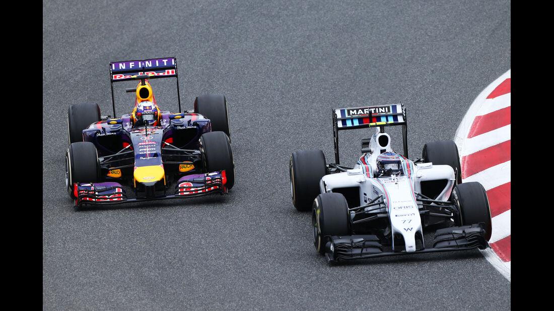 Ricciardo & Bottas - GP Spanien 2014