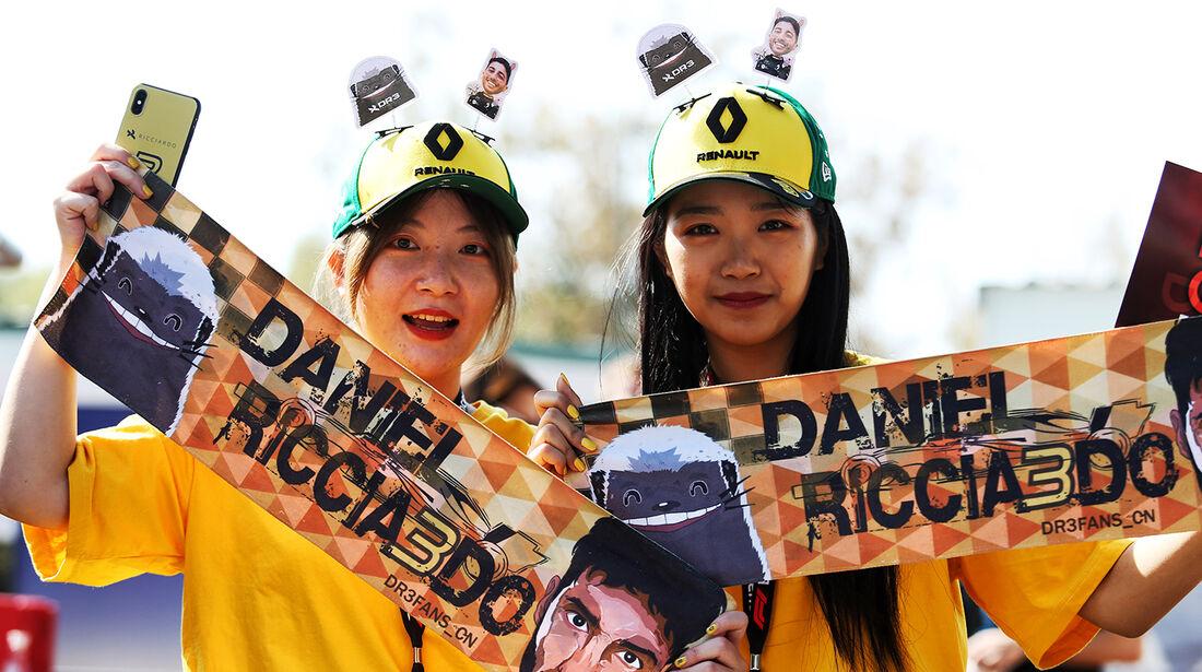 Ricciardo-Fans - Formel 1 - GP Australien 2019