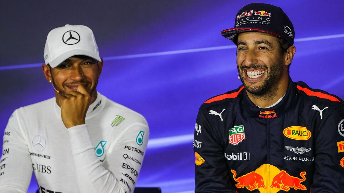 Ricciardo & Hamilton - Formel 1 - 2017