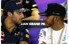 Ricciardo & Hamilton - GP Australien - Melbourne - 17. März 2016