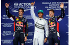 Ricciardo, Hamilton & Vettel - Formel 1 - GP China - Shanghai - 19. April 2014