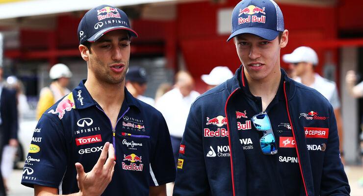 Ricciardo & Kvyat - Formel 1 2014