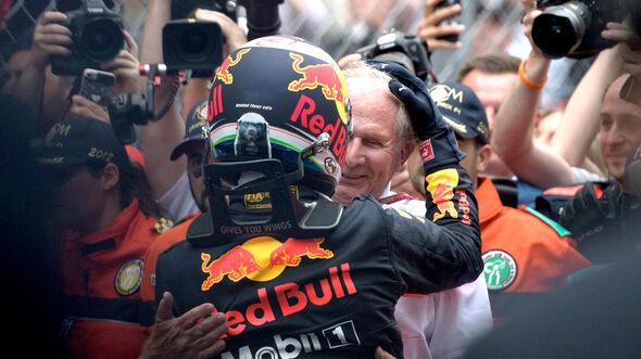 Ricciardo & Marko - GP Monaco 2018