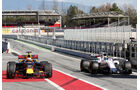 Ricciardo & Massa - Formel 1 - Test - Barcelona - 7. März 2017