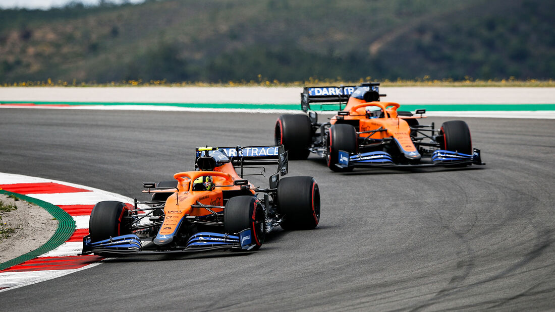 Ricciardo & Norris - Formel 1 - GP Portugal 2021