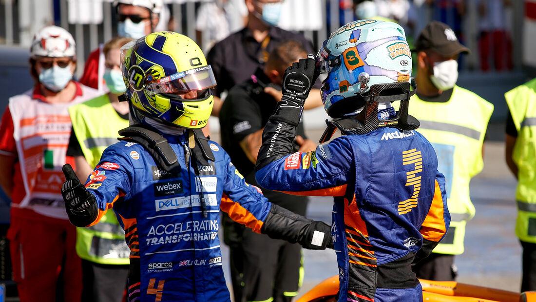 Ricciardo & Norris - GP Italien - Monza - 2021