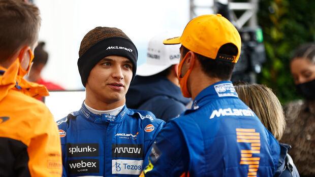 Ricciardo & Norris - GP Türkei 2021