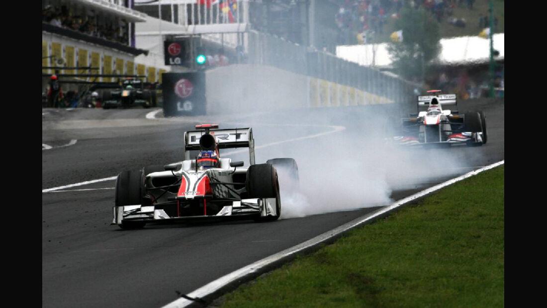 Ricciardo - Noten - GP Ungarn - Formel 1 - 31.7.2011