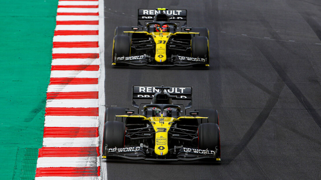 Ricciardo & Ocon - Formel 1 - GP Portugal 2020