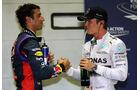 Ricciardo & Rosberg  - Formel 1 - GP Singapur - 20. September 2014