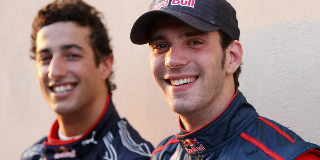 Ricciardo Vergne Toro Rosso 2011