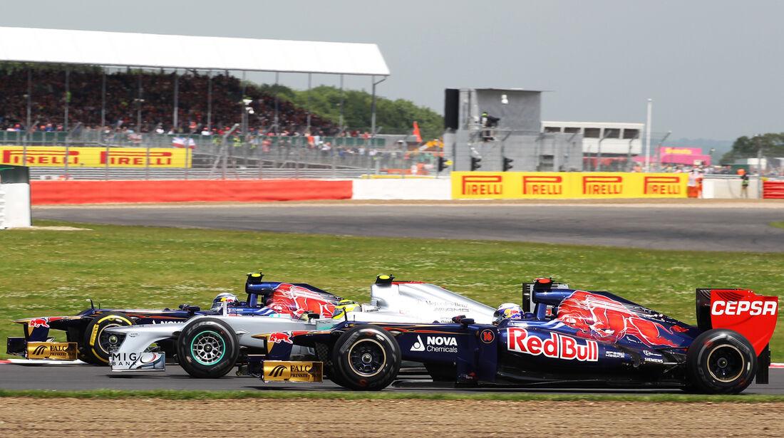 Ricciardo Vergne Toro Rosso GP England 2012