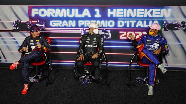 Ricciardo, Verstappen & Bottas - Formel 1 - Monza - GP Italien - 11. September 2021