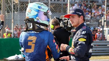 Ricciardo & Verstappen - Formel 1 - Monza - GP Italien - 11. September 2021