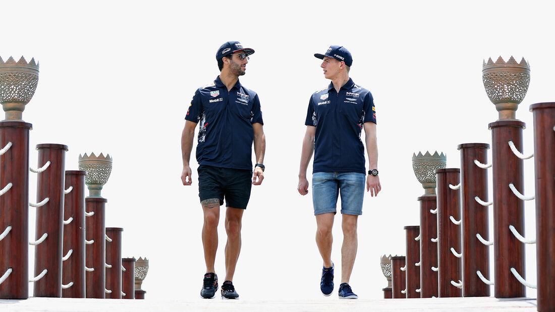 Ricciardo & Verstappen - GP Bahrain 2017