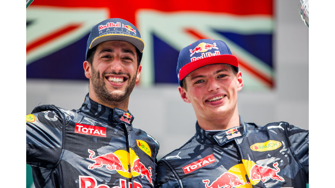 Ricciardo & Verstappen - GP Deutschland 2016