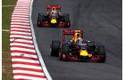 Ricciardo & Verstappen - GP Malaysia 2016