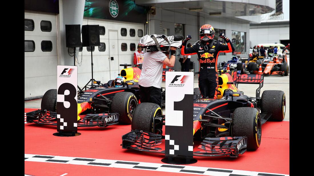 Ricciardo & Verstappen - GP Malaysia 2017