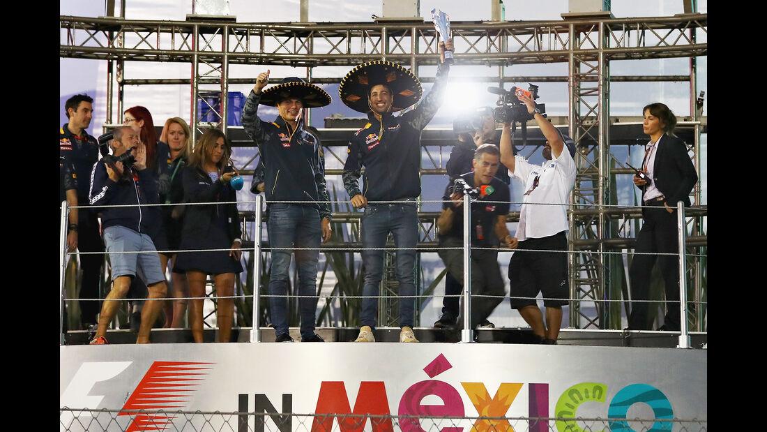 Ricciardo & Verstappen - GP Mexiko 2016