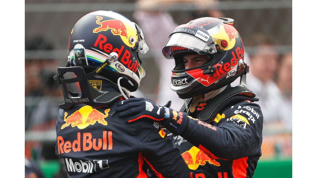 Ricciardo & Verstappen - GP Mexiko 2018