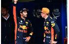 Ricciardo & Verstappen - Red Bull - Formel 1 - GP Italien - Monza - 2. September 2017