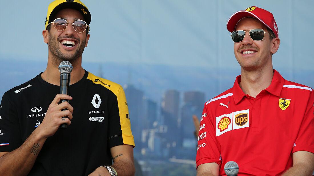 Ricciardo & Vettel - Formel 1 - GP Australien 2019