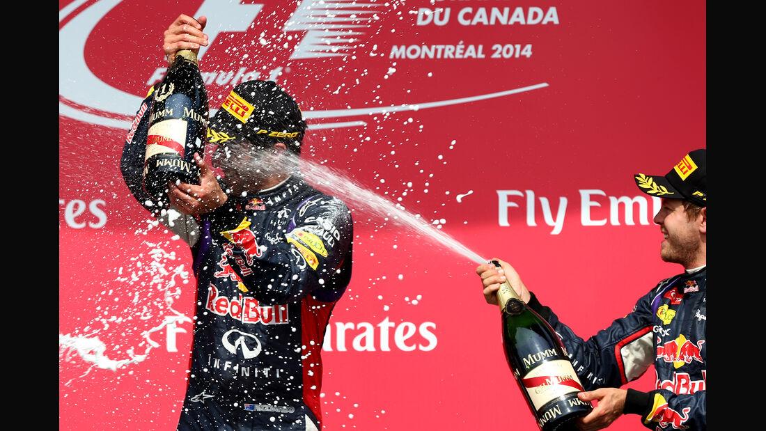 Ricciardo & Vettel - GP Kanada 2014