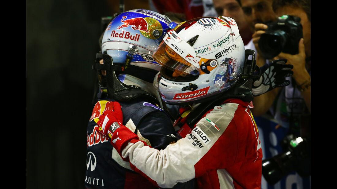 Ricciardo & Vettel -  GP Singapur 2015