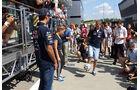 Ricciardo & Vettel - Red Bull - Formel 1 - GP Ungarn - Budapest - 24. Juli 2014