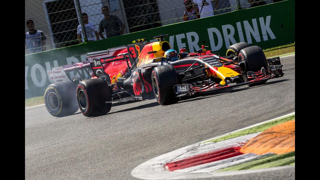 Ricciardo vs. Räikkönen - GP Italien 2017