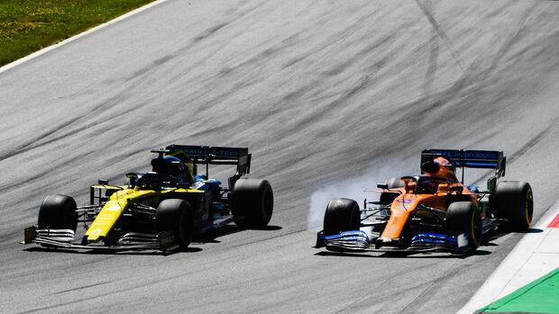 Ricciardo vs. Sainz - Formel 1 - GP Österreich - Spielberg - 30. Juni 2019