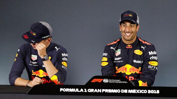 Riccicardo - Verstappen - GP Mexiko 2018