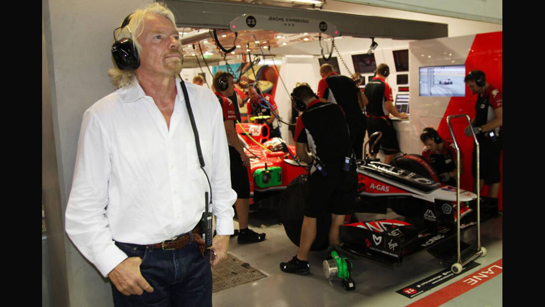 Richard Branson - GP Singapur - 24. September 2011