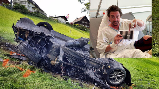 Richard Hammond, The Grand Tour, Unfall, Rimac Concept One, Bergrennen