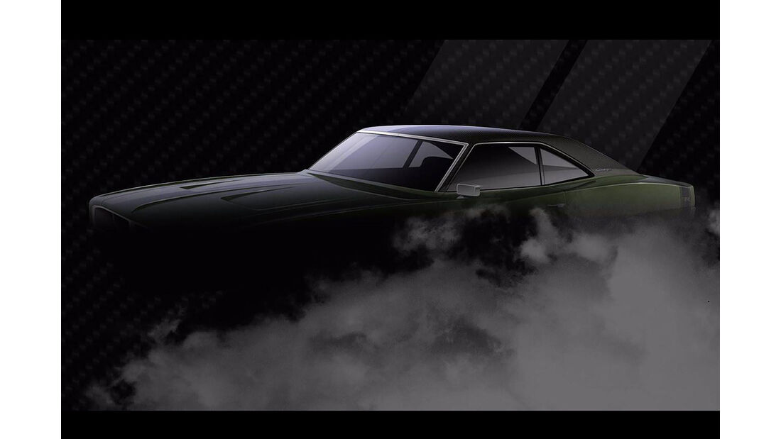 Ringbrothers 1969 Dodge Charger Defector Sema