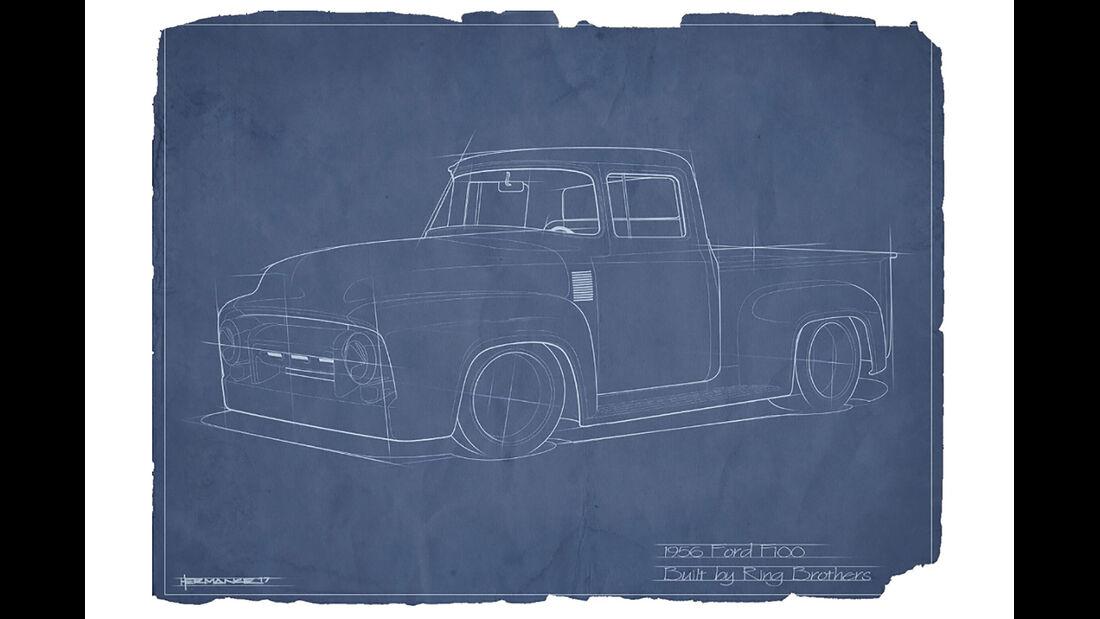 Ringbrothers Ford F100 1956 Sema