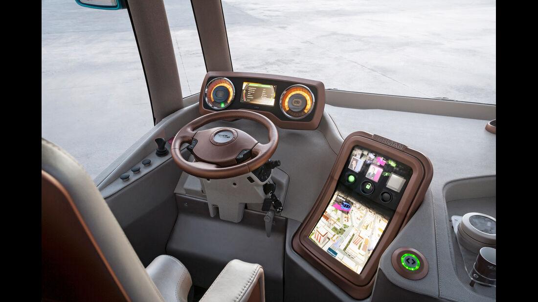 Rinspeed Micro-Max, Cockpit, Lenkrad