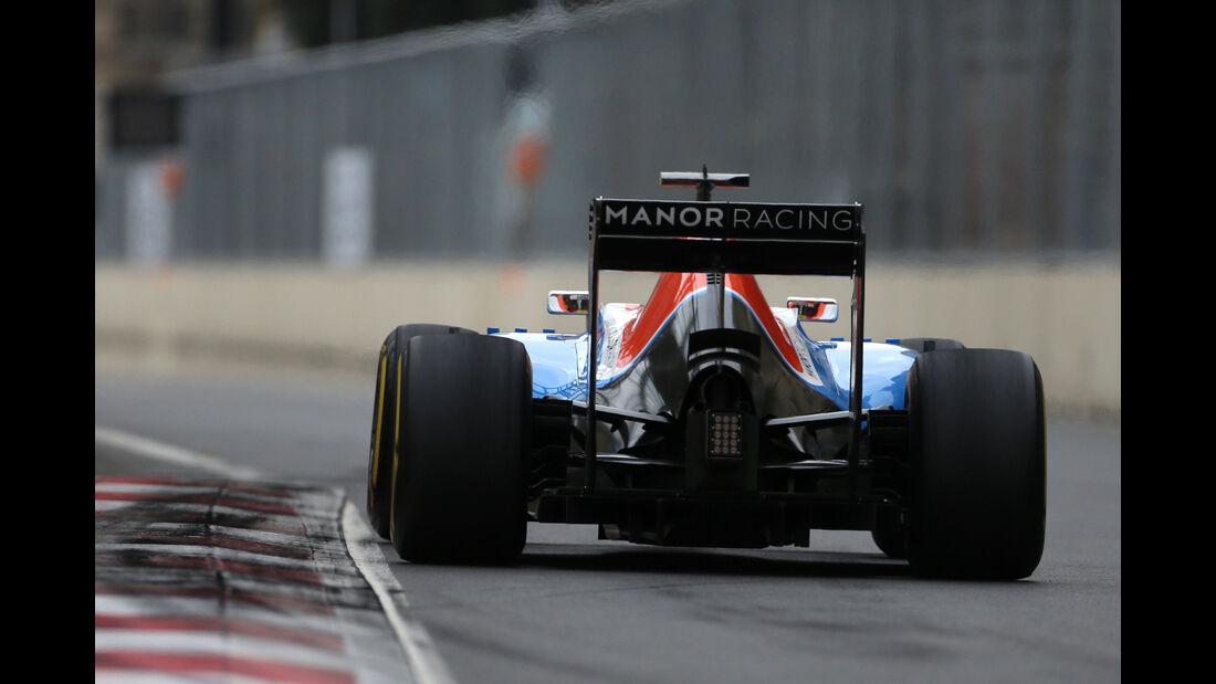 Rio Haryanto - Formel 1 - GP Aserbaidschan 2016