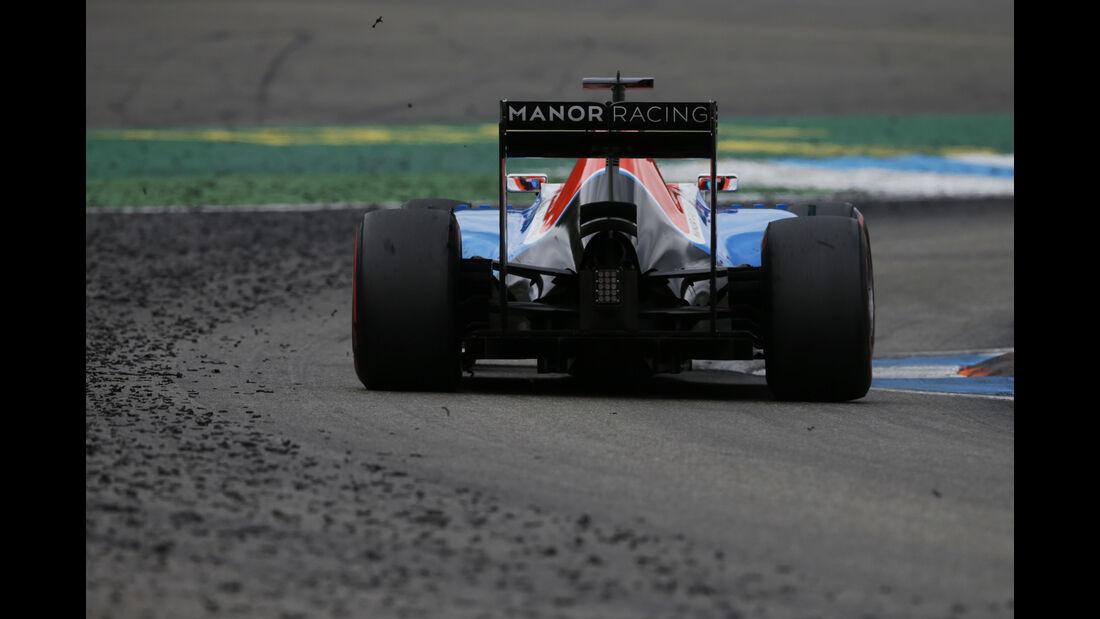 Rio Haryanto - Formel 1 - GP Deutschland 2016