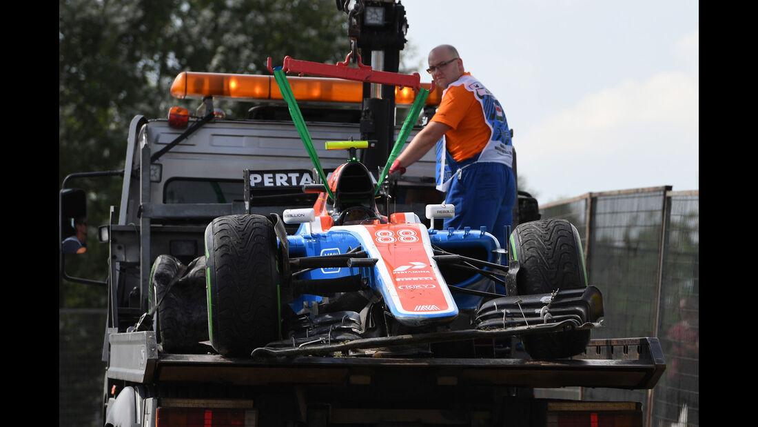 Rio Haryanto - Formel 1 - GP Ungarn - 23. Juli 2016