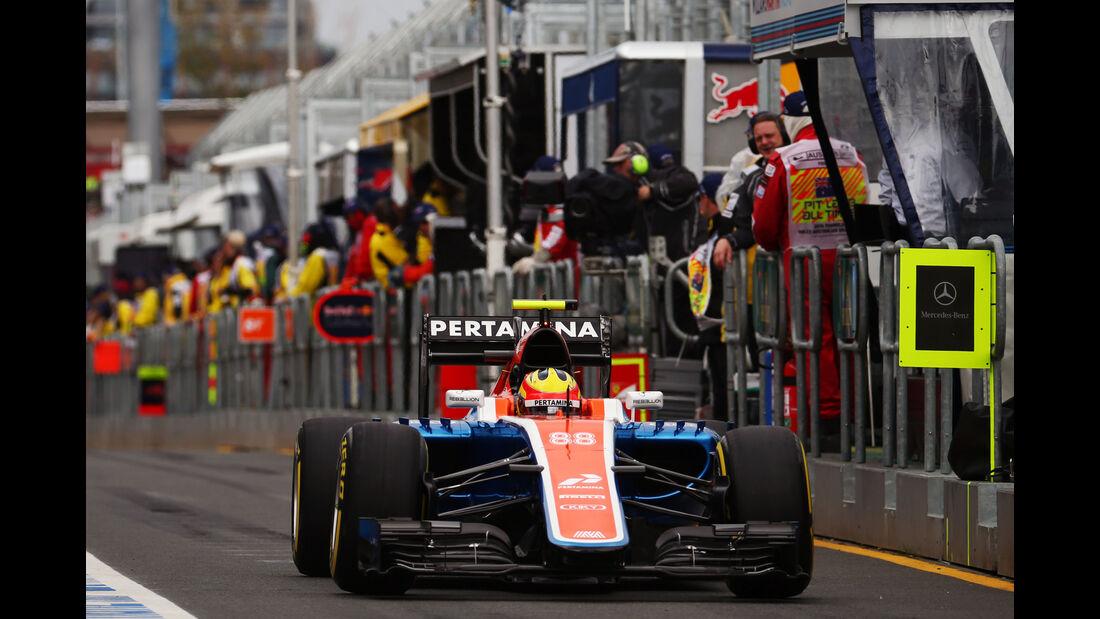 Rio Haryanto - GP Australien 2016
