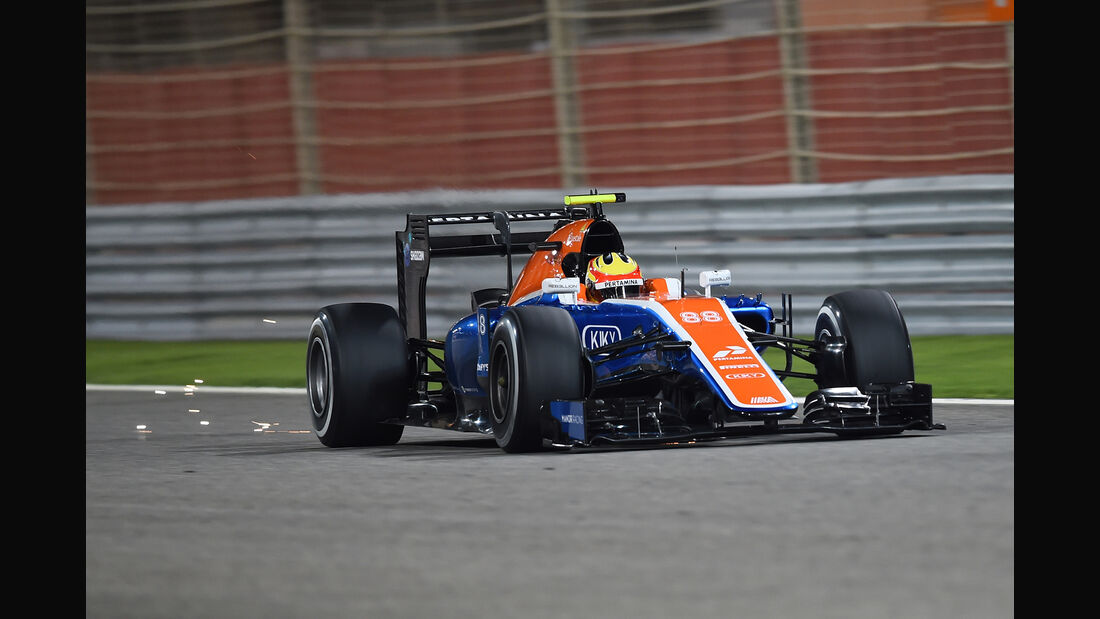 Rio Haryanto - GP Bahrain 2016