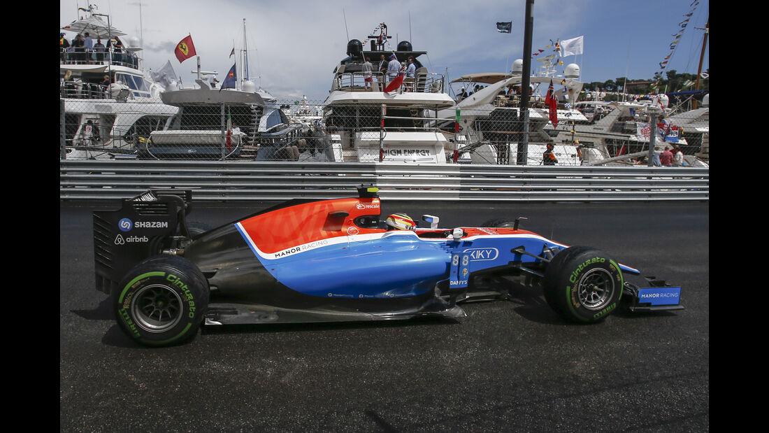 Rio Haryanto - GP Monaco 2016