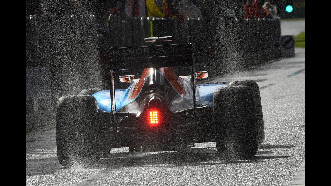 Rio Haryanto - Manor - Formel 1 - GP Australien - Melbourne - 18. März 2016