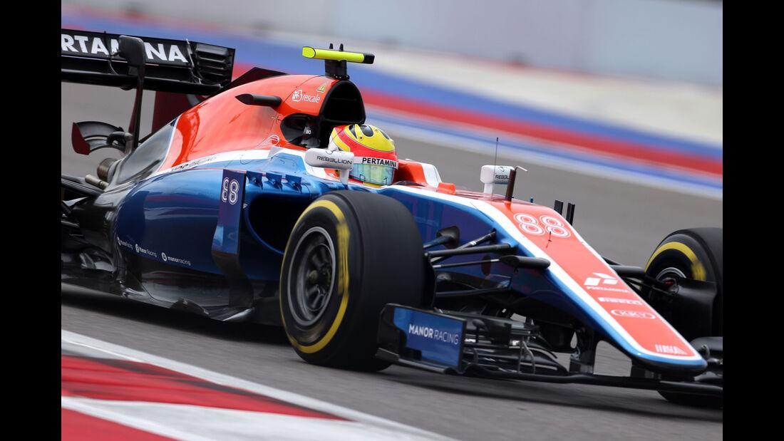 Rio Haryanto - Manor - Formel 1 - GP Russland - 30. April 2016