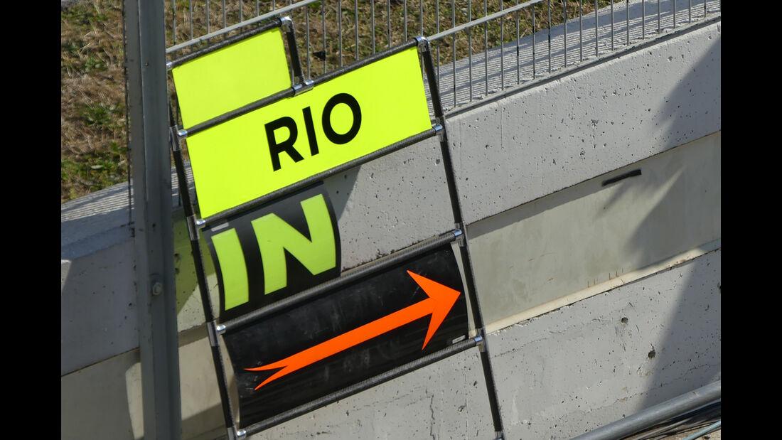 Rio Haryanto - Manor - Formel 1-Test - Barcelona - 25. Februar 2016