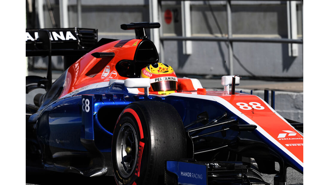 Rio Haryanto - Manor - Formel 1-Test - Barcelona - 4.3.2016