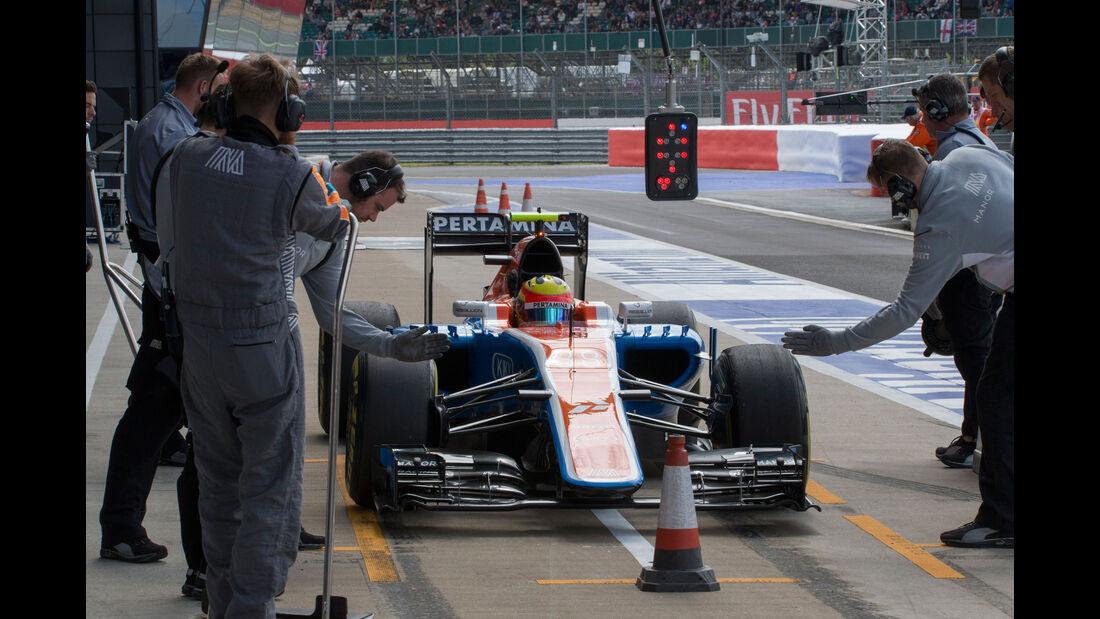 Rio Haryanto - Manor - GP England - Silverstone - Formel 1 - Freitag - 8.7.2016